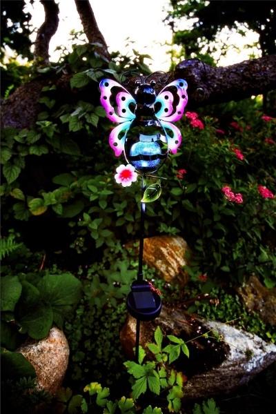 Solcellsdekoration Fjäril