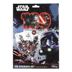 Star Wars 100 Stickers Holograf