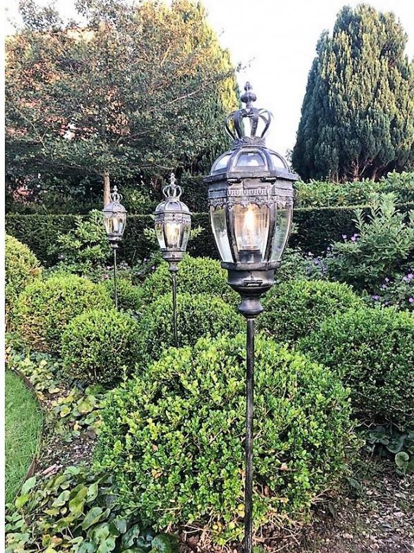 Trädgårdslykta Med Belysning