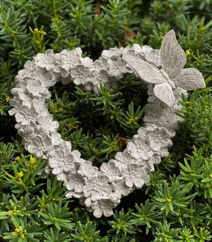 Hjärta Med Fjäril