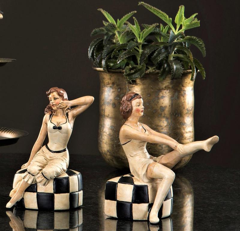 Sittande Damer 2 - Pack