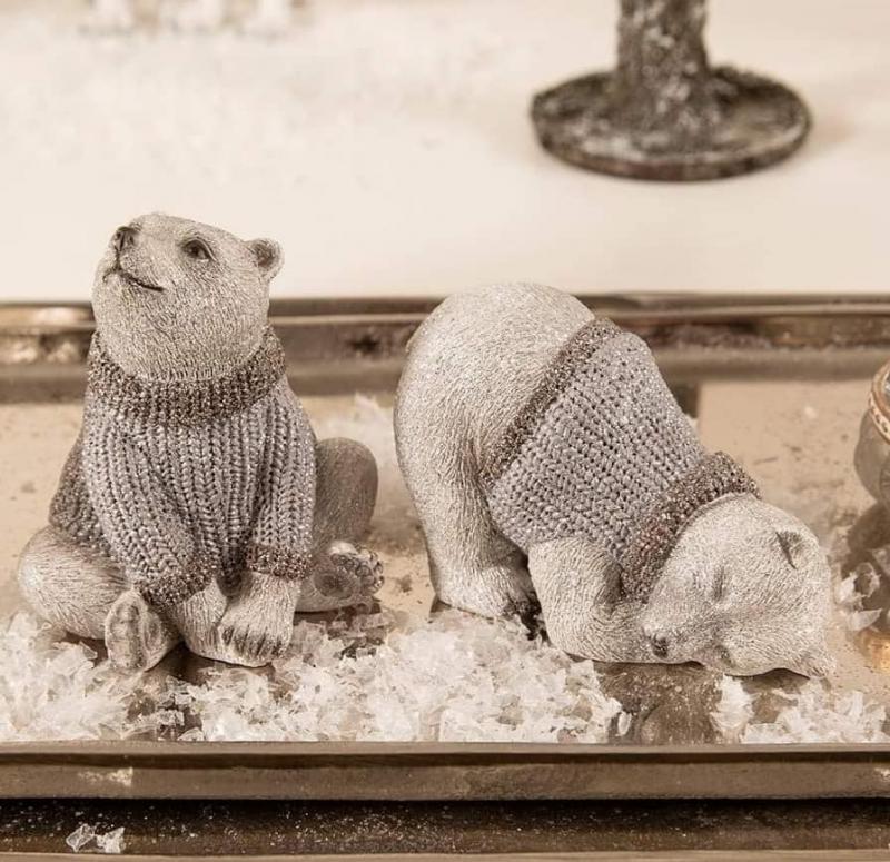 Söta Isbjörnar Med Tröja 2 - Pack