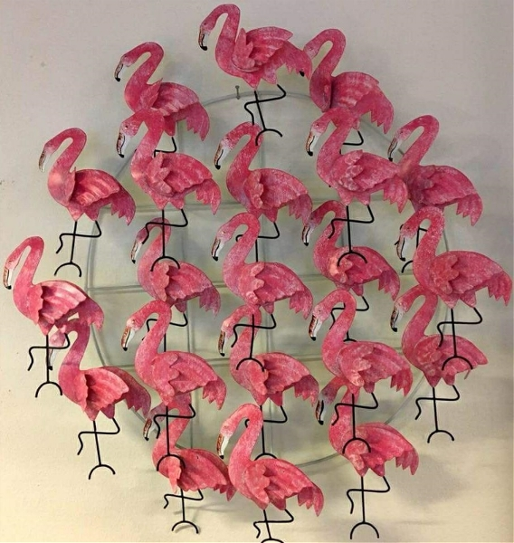 Flamingo Väggdekoration
