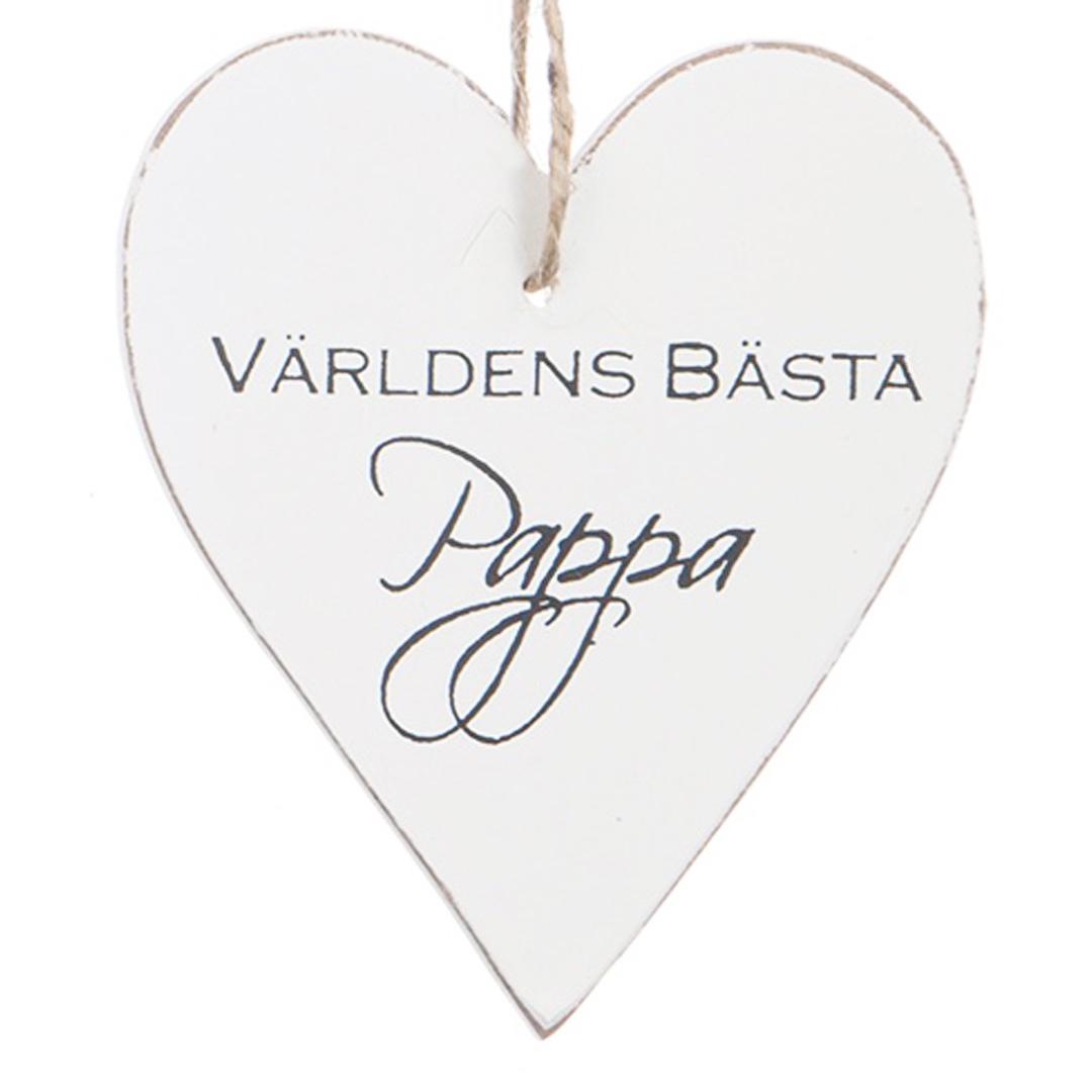 Hjärta - VÄRLDENS BÄSTA PAPPA