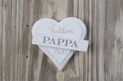Magnet hjärta - PAPPA