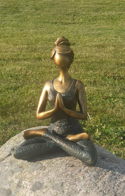 Yoga Kvinna - Ärgad/Svart