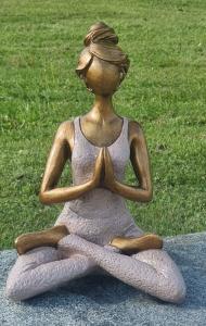 Yoga kvinna - Rosa