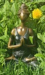 Yoga Kvinna - Svart