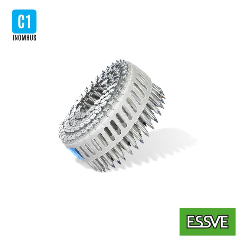 Ankarspik 15 grader rundbandad, plastbandad (coil)