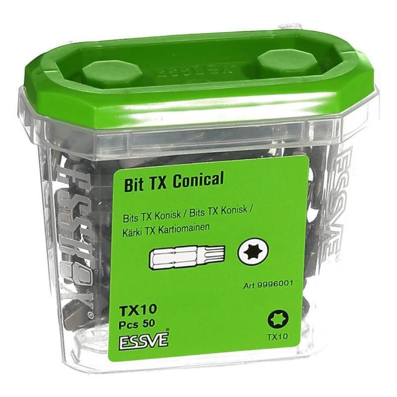 Bits TX Koniska 50-pack, Essbox