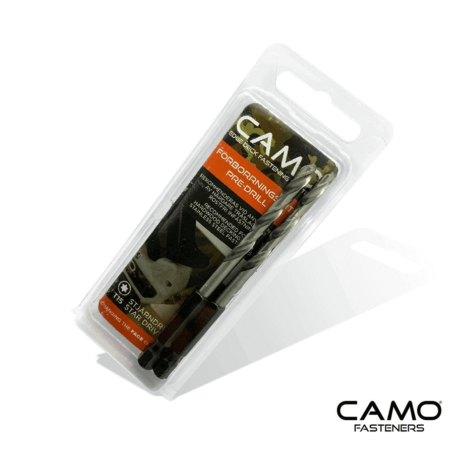 Camo förborrnings bits för hårdare träslag