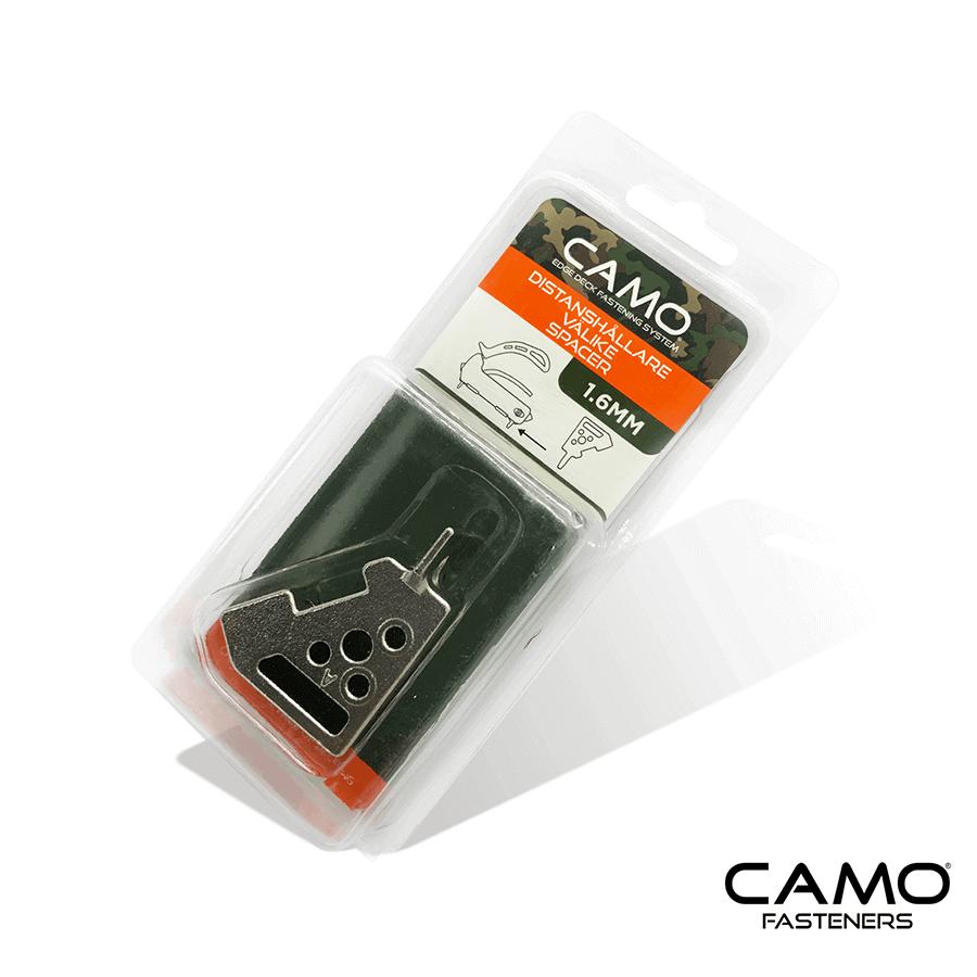 Camo avståndskloss 1,6 mm för skruvfixtur