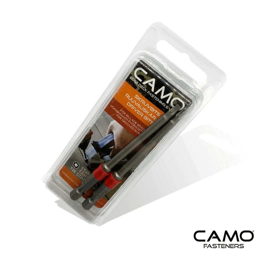 Camo specialbits till skruvfixtur. Används vid 34mm trallbräda