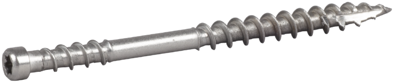 Fasadskruv Cylindriskt Huvud Essve, Rostfri A4/C5