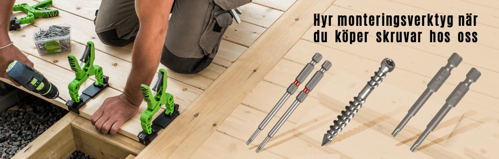Hyr Essve HDS monteringsverktyg-110-150