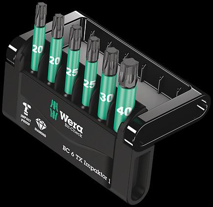 Bitssats Wera Mini - Check Impaktor Torx - 50mm