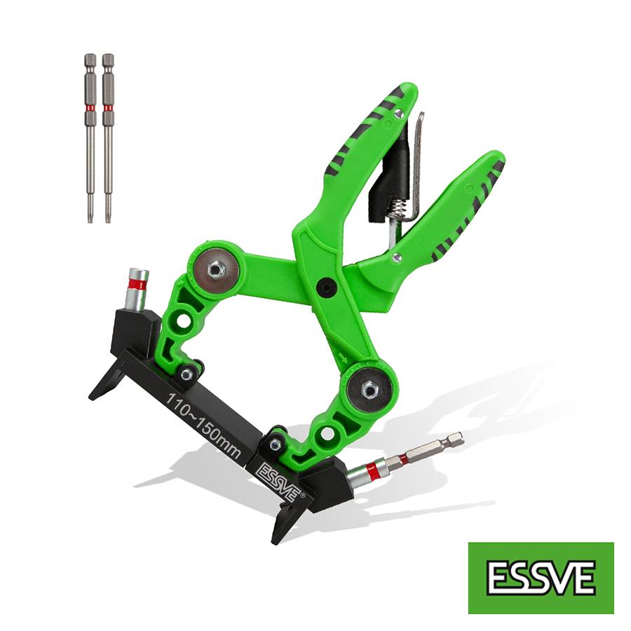Essve Hds monteringsverktyg 110-150 med bits