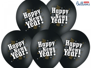 "BALLONG ""HAPPY NEW YEAR"" 6 ST"