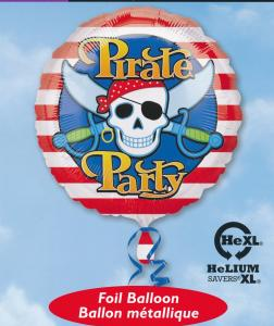 FOLIEBALLONG PIRATE PARTY 18""