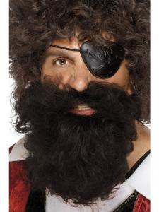 Piratskägg brun