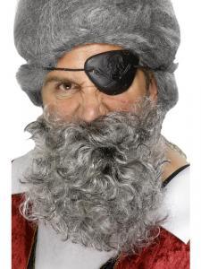Piratskägg grå