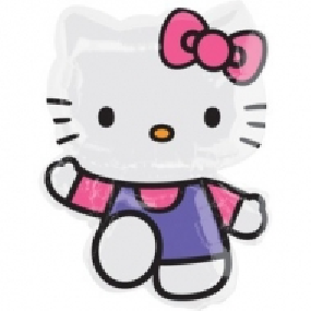 FOLIEBALLONG FIGUR HELLO KITTY
