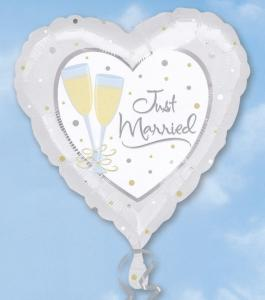FOLIEBALLONG JUST MARRIED 18""