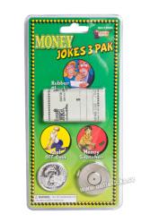 Pengar skämt 3st