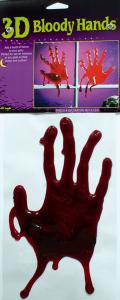 Blodig slime hand