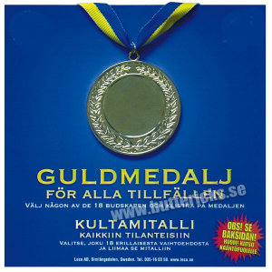 Guld medalj