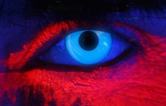 LINS UV blå