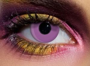 färgade linser rosa