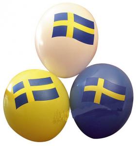 Ballong SE flaggor 6st