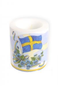 Ljus Svenska Flaggan