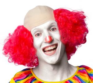 Clownflint m hår