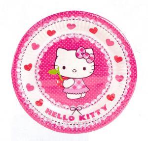 Hello Kitty Tallrik 18cm 10st