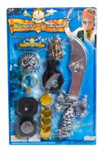 Piratset kniv och pengar