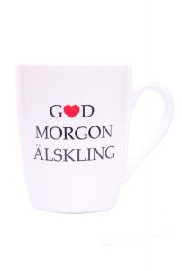 Mugg God morgon älskling