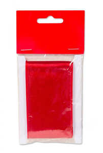 Sidenband röd 250cm
