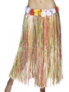 Hawaiikjol lång färgad