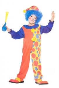 Clowndräkt & hatt