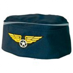 Hat Stewardess cap Blue