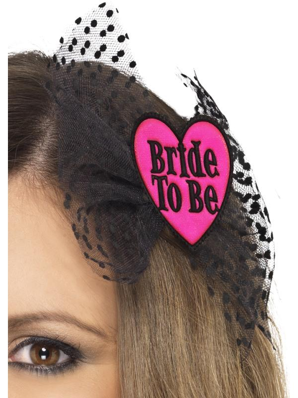 BRIDE TO BE HAIRBOW