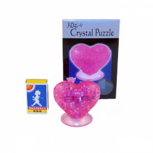 PUZZLE CRYSTAL HEART