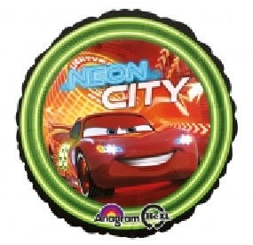 FOLIEBALLONG CARS NEON CITY