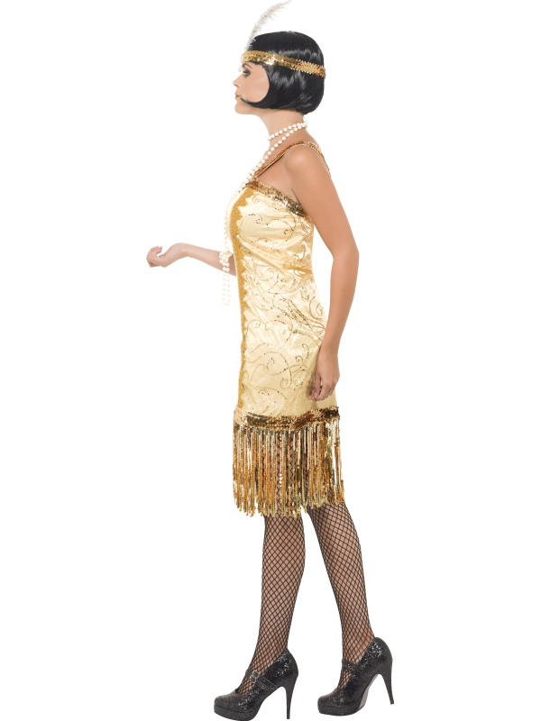 84e3763b51e0 CHARLESTON FLAPPER DRESS