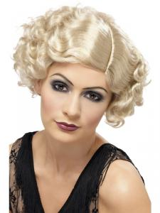 PERUK FLIRTY FLAPPER BLOND