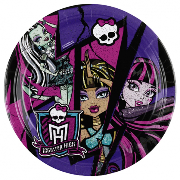 MONSTER HIGH TALLRIK
