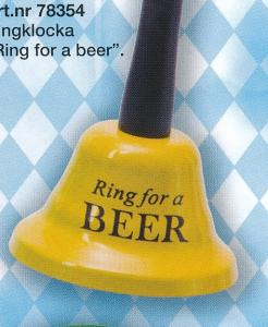 KLOCKA RING FOR BEER