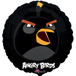 ANGRY BIRDS MUGG SVART